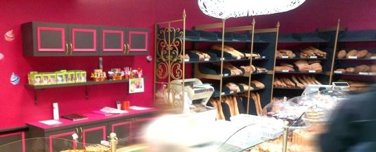 Aménagement d'espace Boulangerie Viennoiserie Pâtisserie en grandes surfaces.