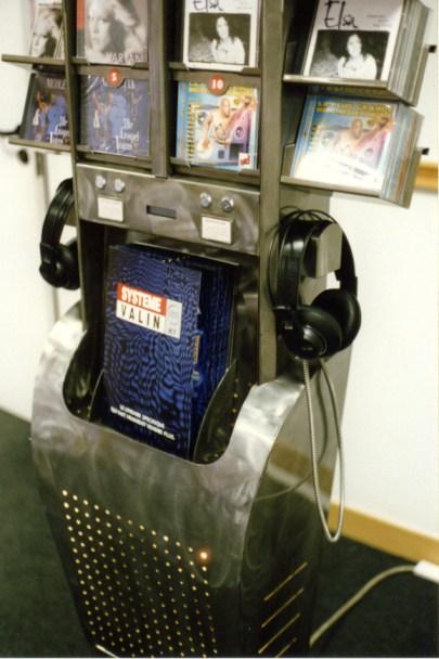 Buzz ancienne borne audio fabrication VALIN