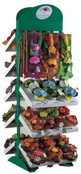 Presentoir pour fleurs fabrication VALIN