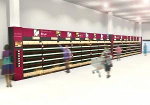 Aménagement cave à vin conception et fabrication VALIN – Présentoirs sur-mesure