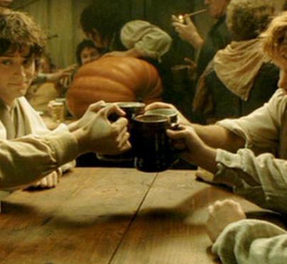 Jogo de Beber do Senhor dos Anéis