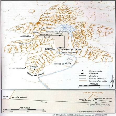 Mapa de Erebor