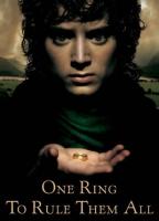 Pôster de O Senhor dos Anéis, com Frodo