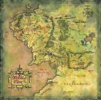 Homens de Púkel no mapa da Terra-Média
