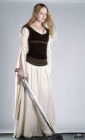 Vestido Éowyn - Dama do Escudo
