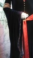Vestido de Luto de Arwen - Forro da Manga