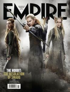Revista Empire -Capa_The Hobbit- Deolsation of Smaug-Valinor
