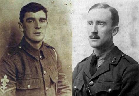 W.J. Jackson-1915 e J.R.R. Tolkien-1916