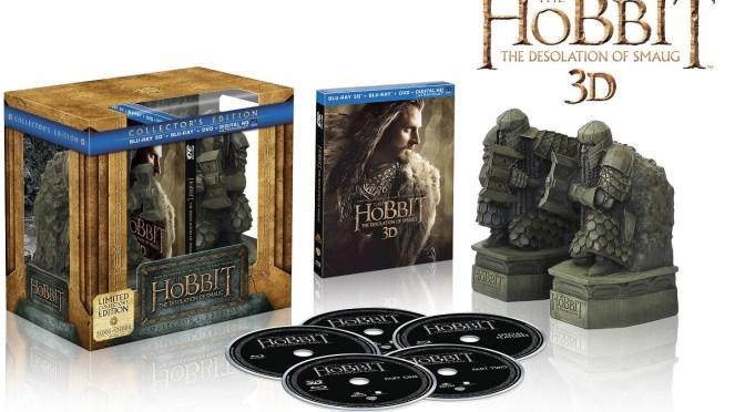 """""""O Hobbit: A Desolação de Smaug"""" – Edição de Colecionador com Miniaturas"""