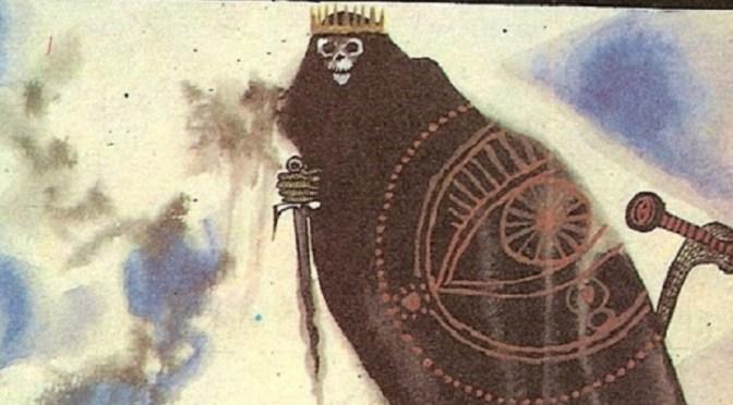 """As belas ilustrações de """"O Senhor dos Anéis"""" em estilo medieval russo"""