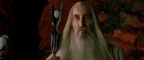 Saruman Fellowship of the Ring