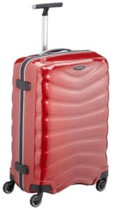 samsonite valise rouge