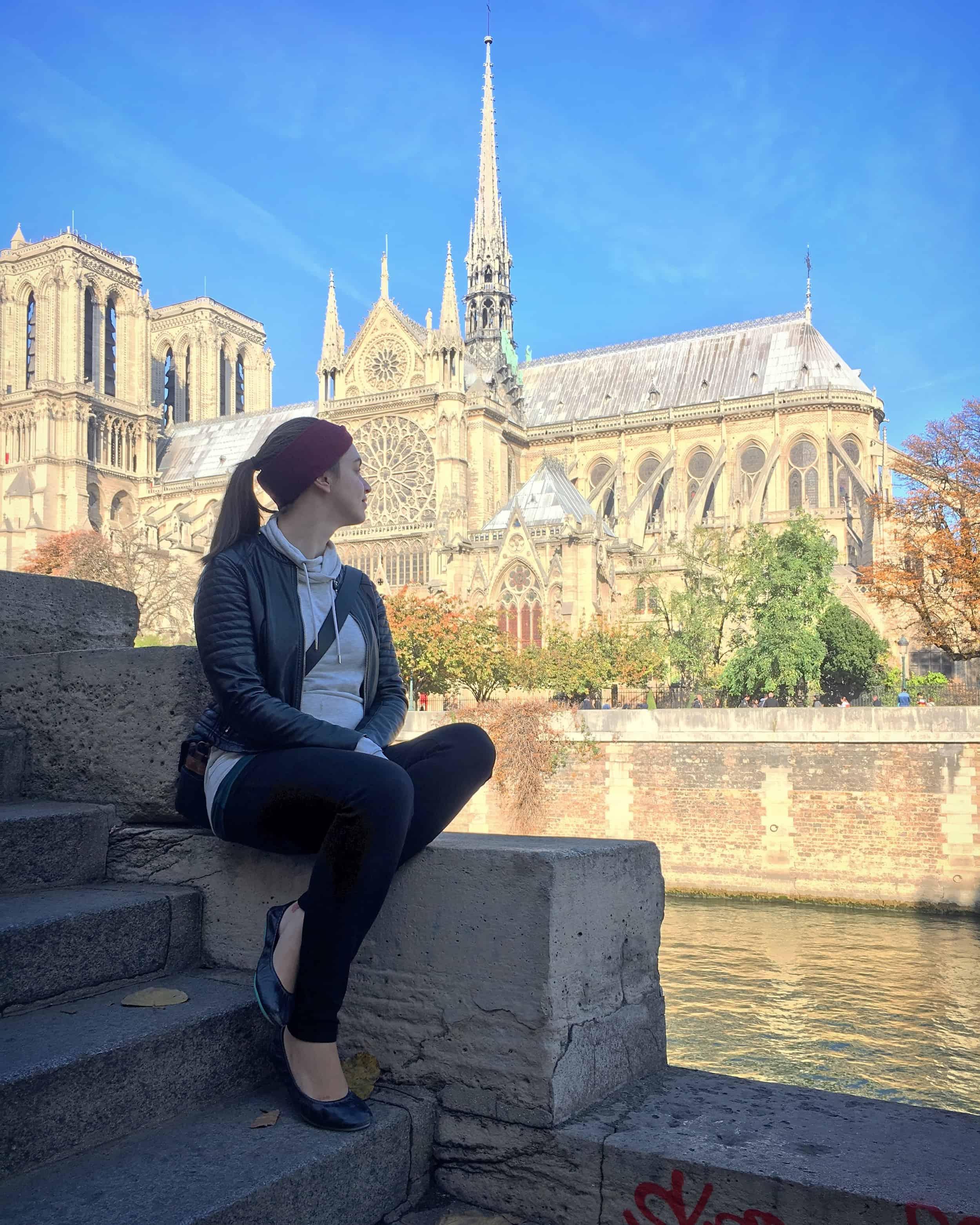 Tieks Review - Wearing Tieks in Paris