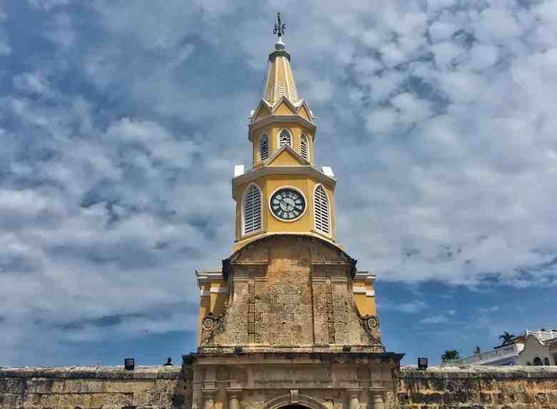 Cartagena Clock Tower Gate