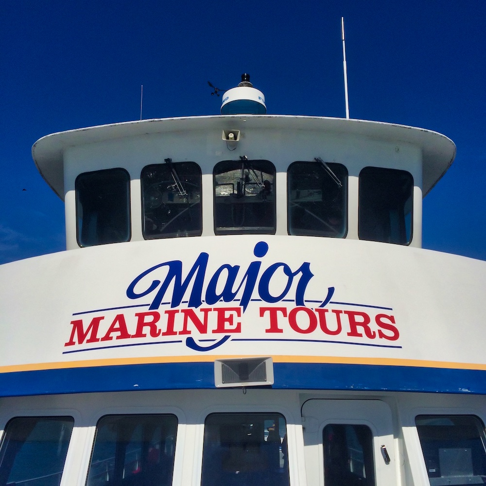 Major Marine Tours Boat