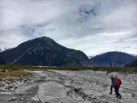 Hiking to Baird Glacier