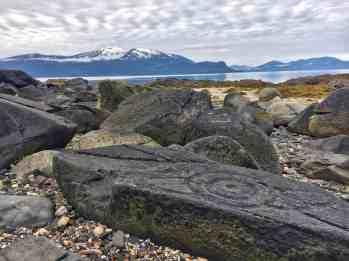 Petroglyph Beach, Wrangell, Alaska