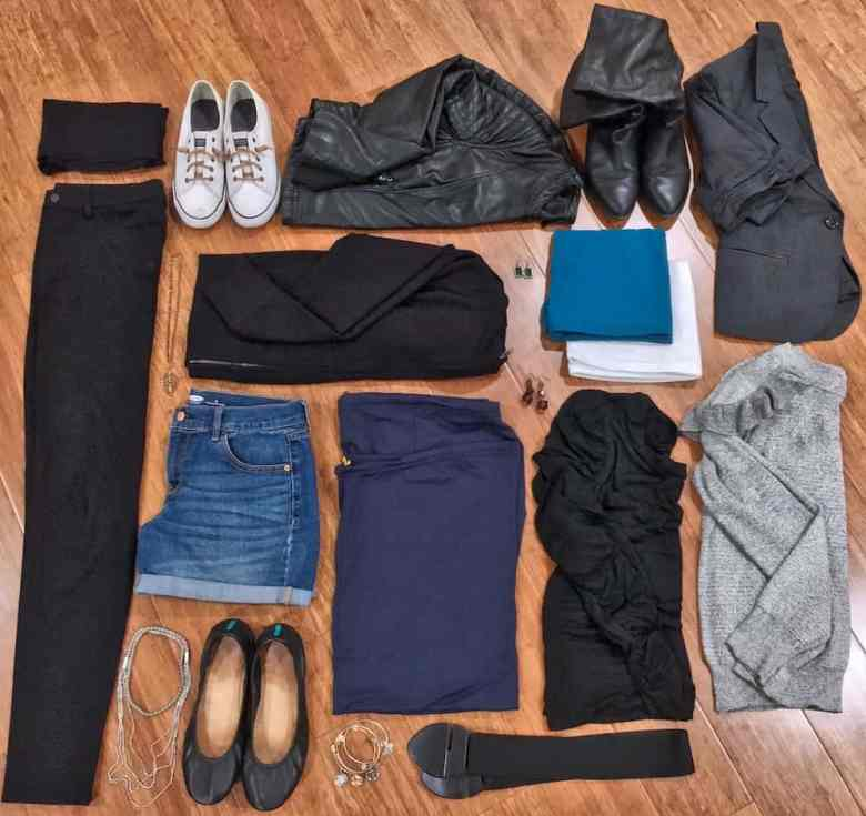 Versalette Packing List