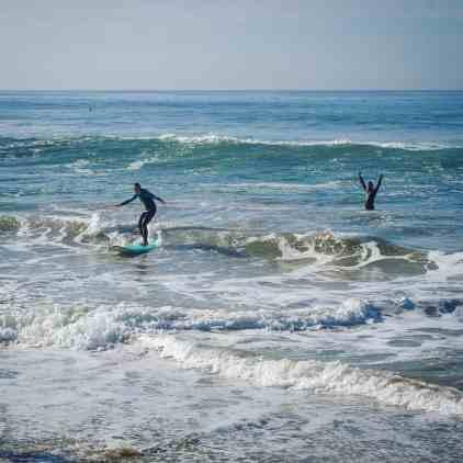 3 Days in Huntington Beach - Surfing