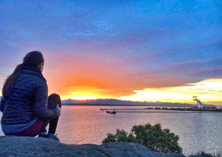 Anacortes Travel Guide - Sunrise at Cap Sante
