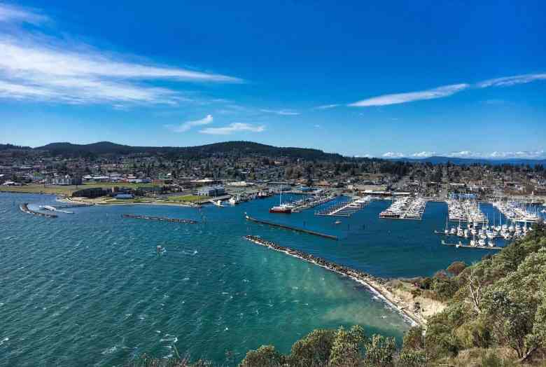 Anacortes Travel Guide - Anacortes from Cap Sante