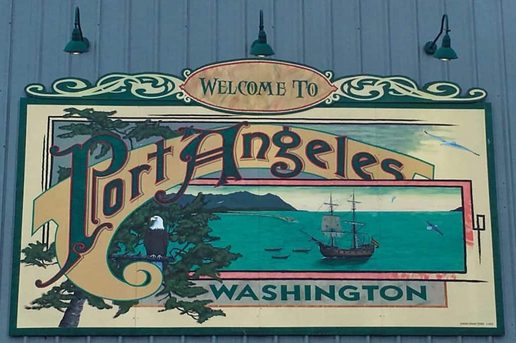 Port Angeles Sign