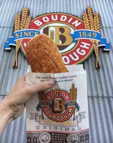 3 Days in San Francisco - Boudin Bakery