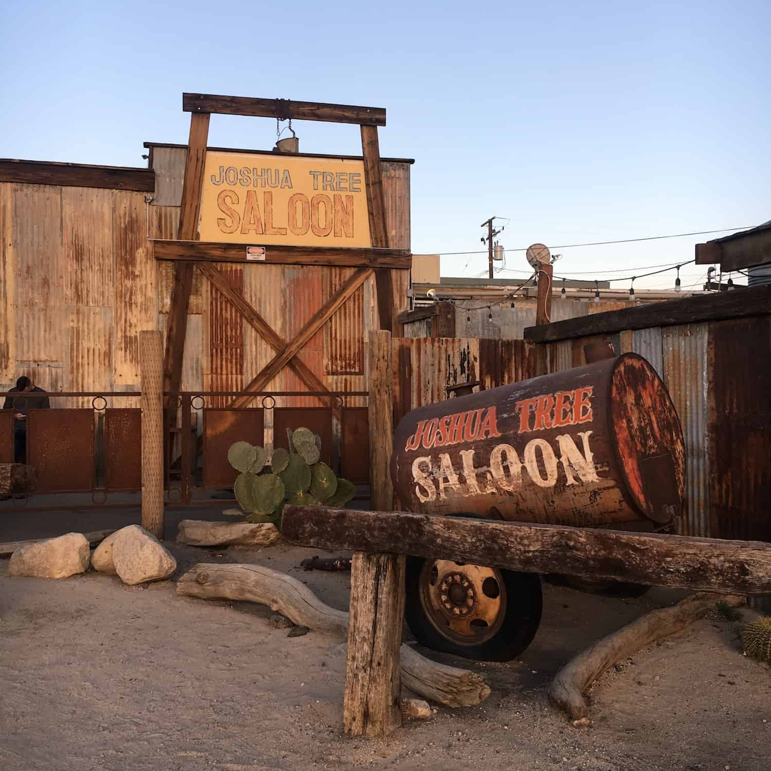 Joshua Tree Weekend Itinerary - Joshua Tree Saloon