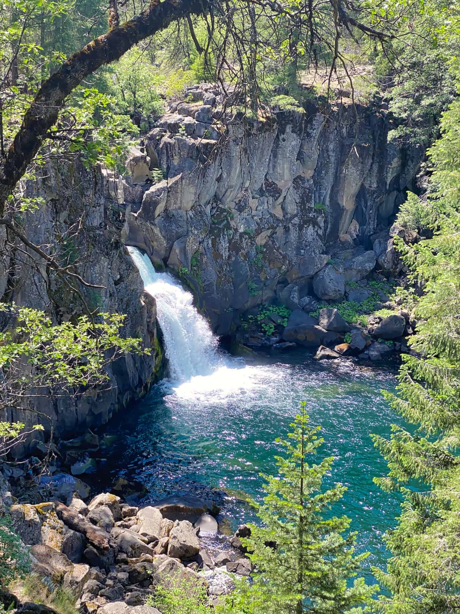 Mount Shasta Weekend - Upper McCloud Falls