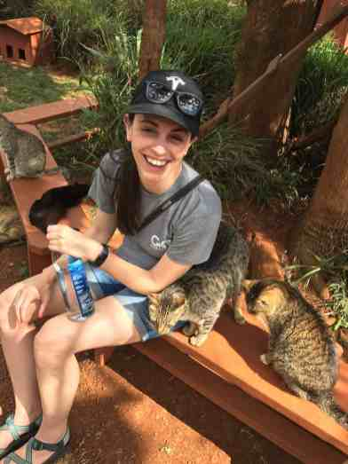 UnCruise Hawaii - Day 3 - Valerie at the Cat Sanctuary