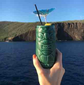 UnCruise Hawaii - Tiki Drink