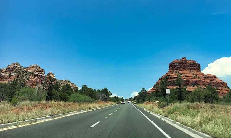 3 Days in Sedona - Road