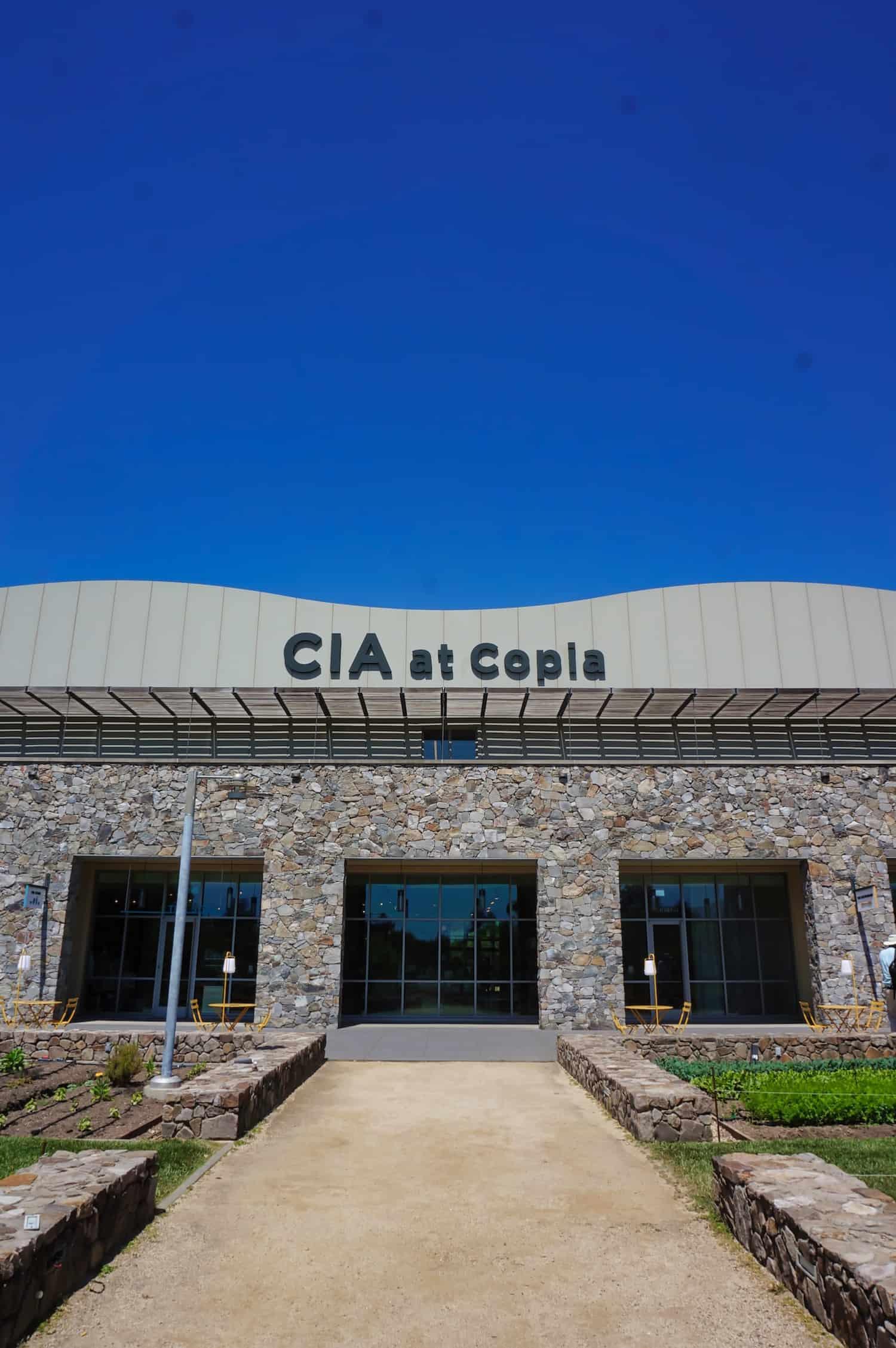 Downtown Napa - CIA at Copia
