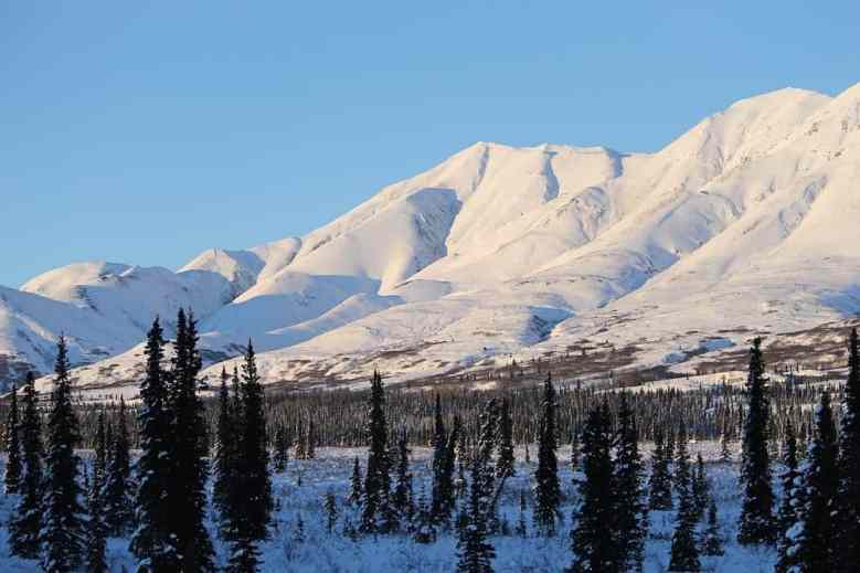 Alaska in Winter - Mountains