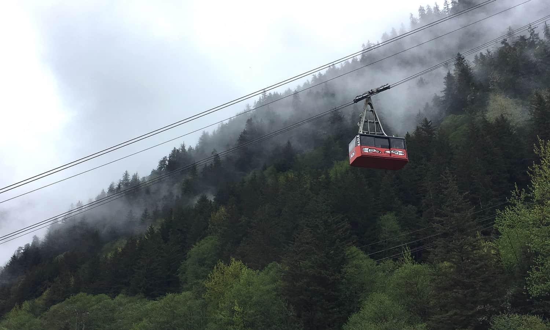 Juneau Cruise Excursions - Tram