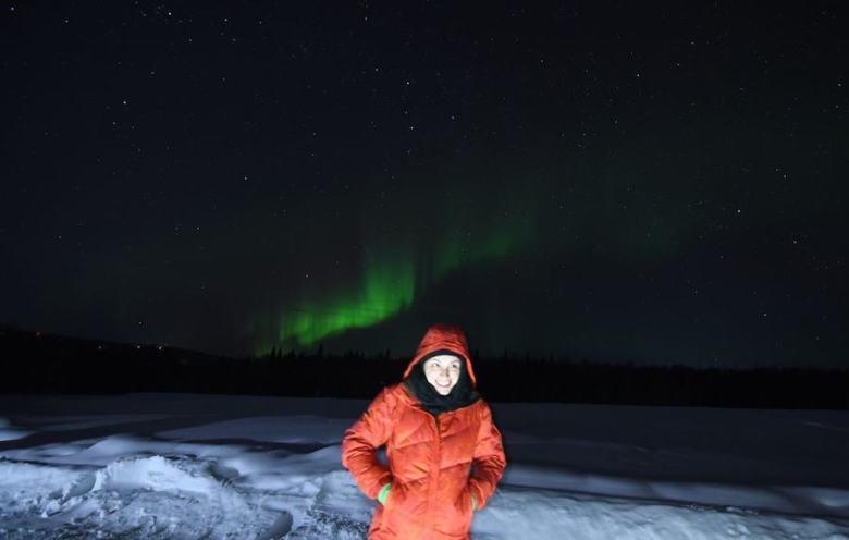 Fairbanks in the Winter - Aurora Viewing