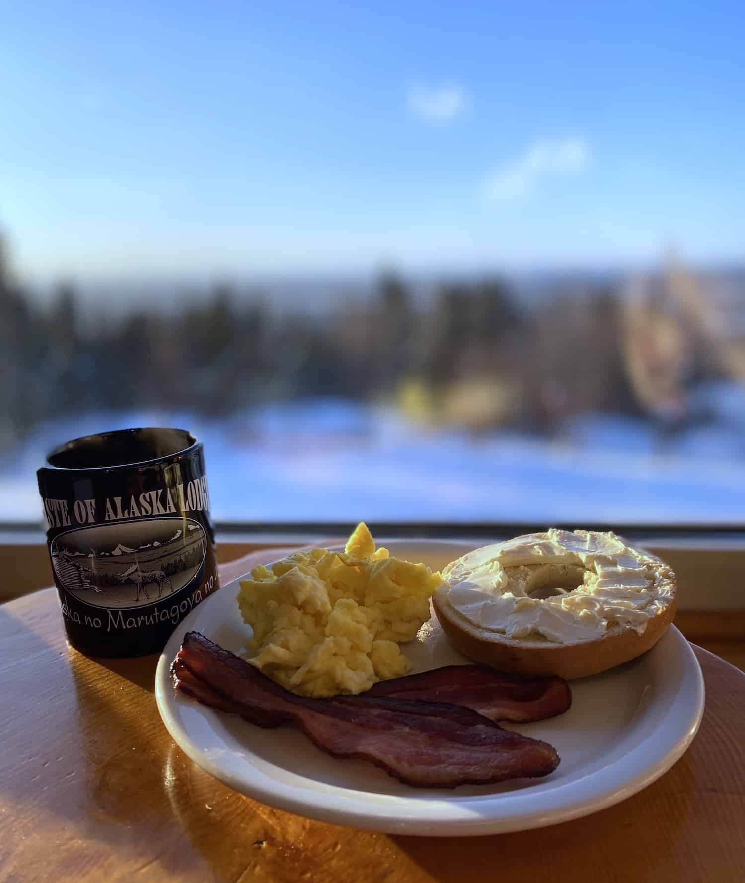Taste of Alaska Lodge - Breakfast