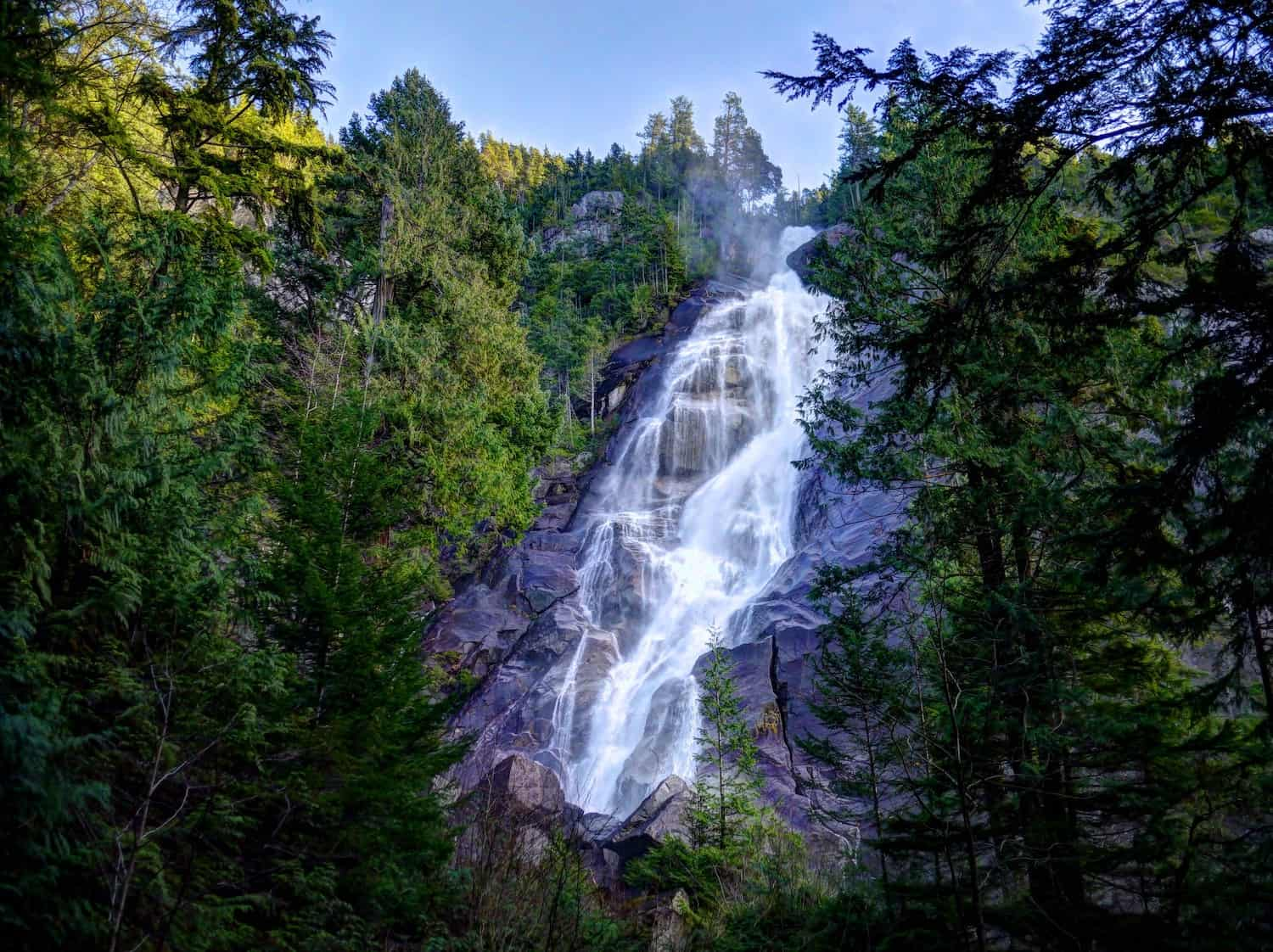 Vancouver Cruise Excursions - Shannon Falls - bensonk42 via Flickr
