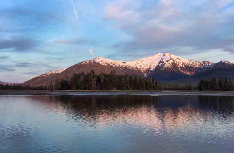 Alaska Autumn Alpenglow