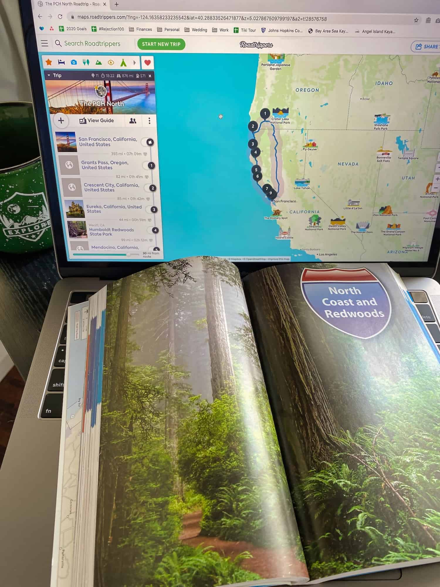 San Francisco Road Trips - Planning with Moon Travel Guides