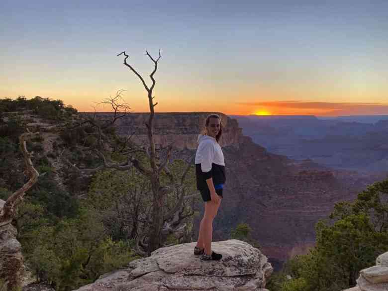 Grand Canyon - Sunset at Yavapai Point