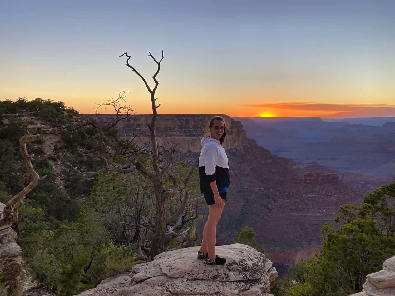 Grand Canyon - Sunset at Yavapai Point
