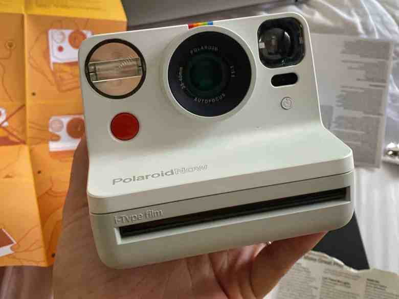 Polaroid Now Review - Product Photo