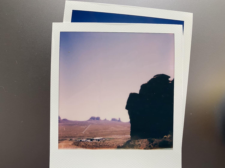 Polaroid Now: Monument Valley