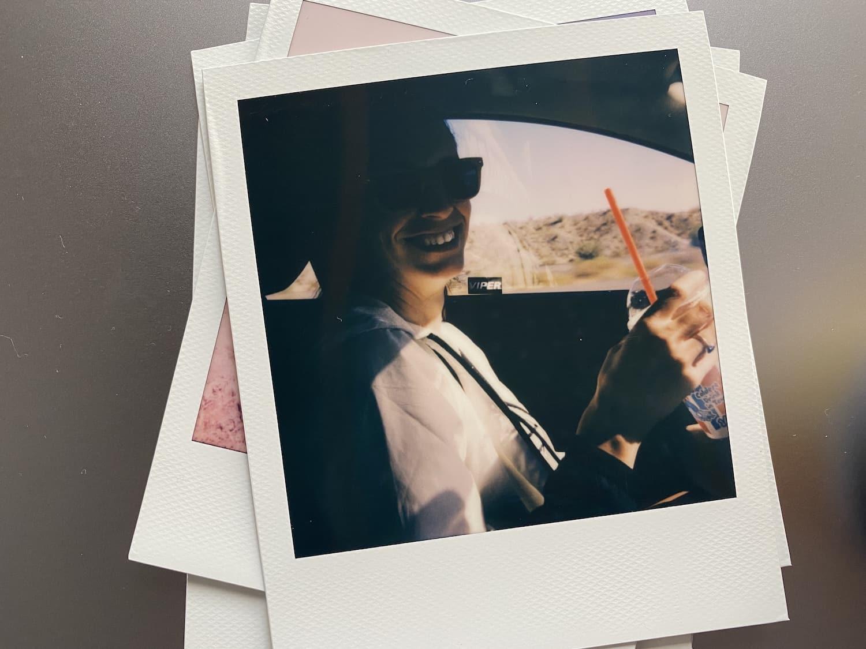 Polaroid Now: Valerie Driving