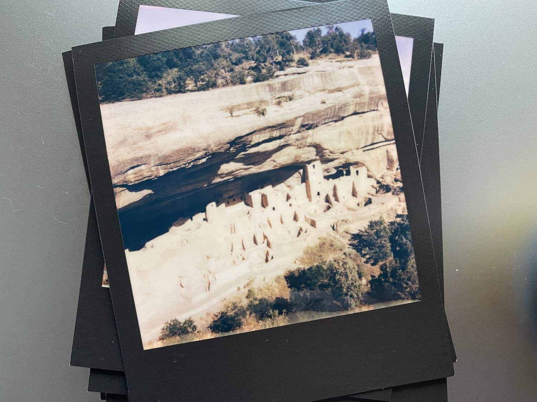 Polaroid Now: Mesa Verde