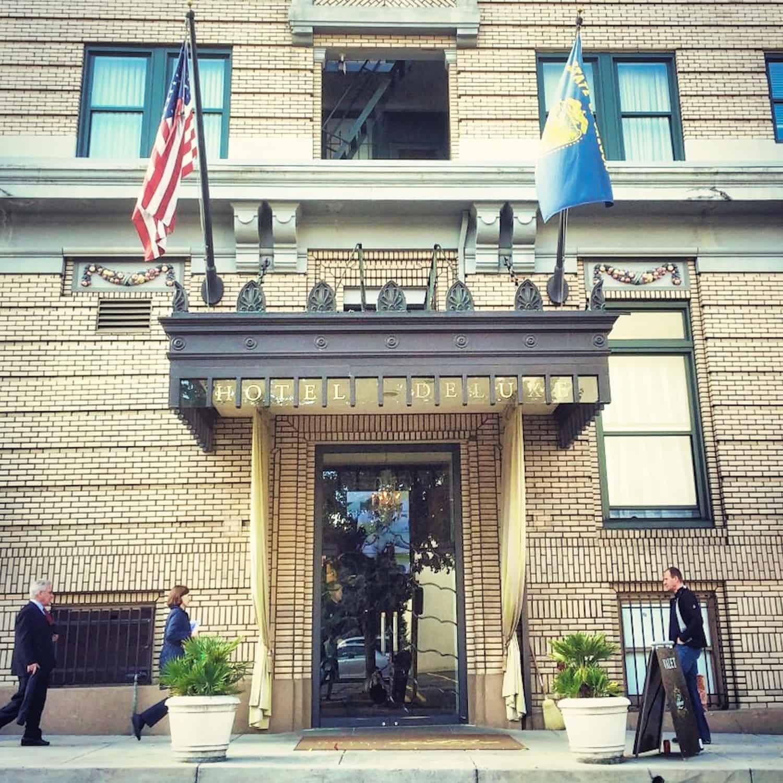 Portland Weekend - Hotel deLuxe Exterior
