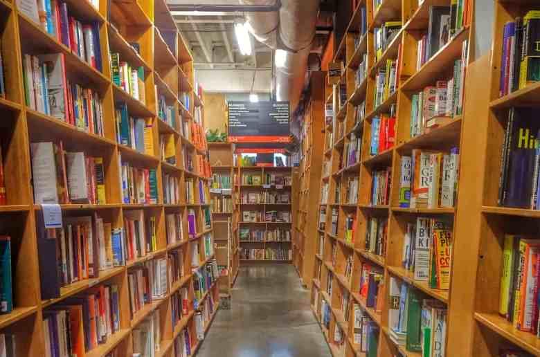 Portland Weekend Trip - Powells Books