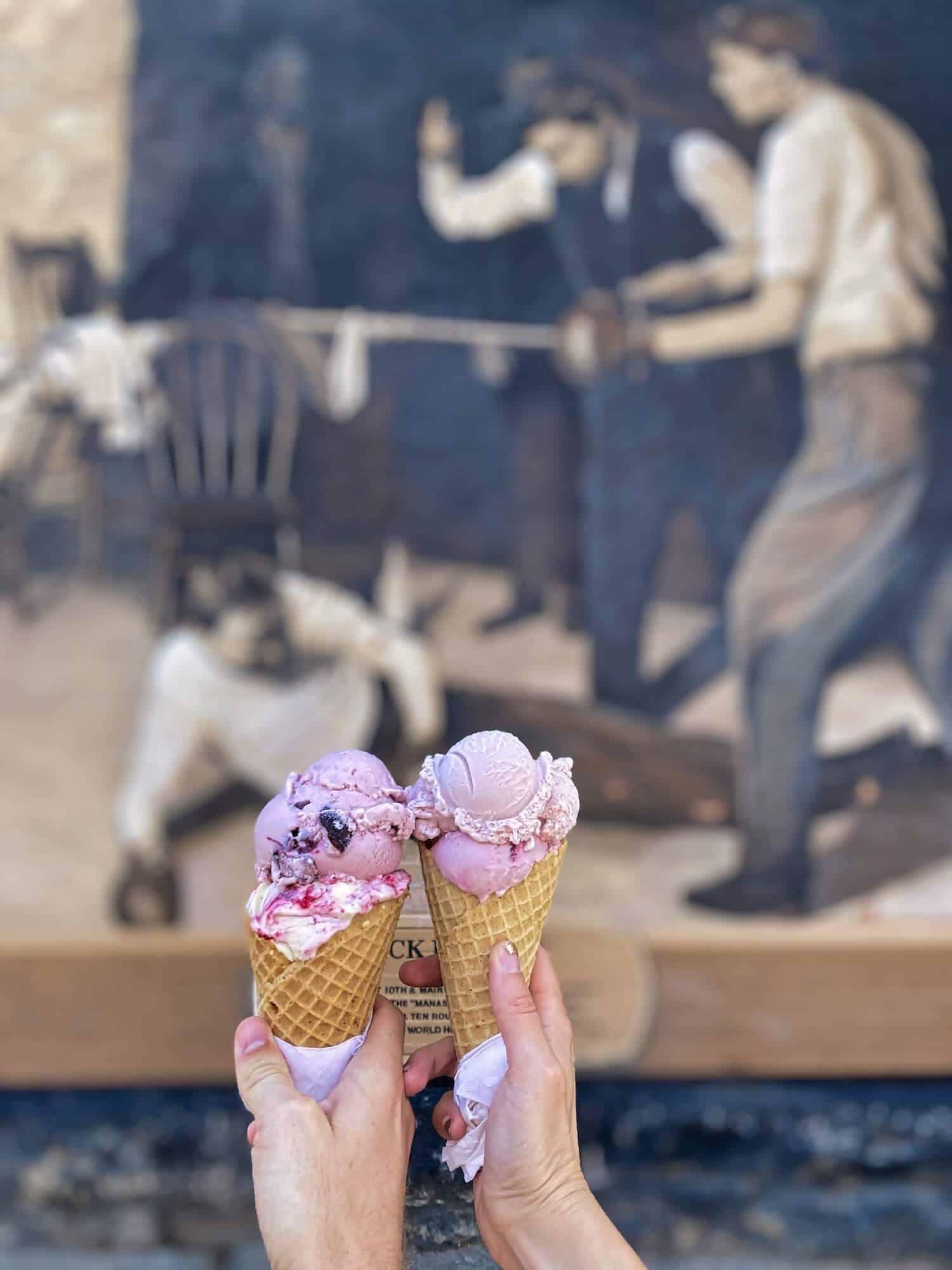 Southwest Road Trip - Durango Ice Cream
