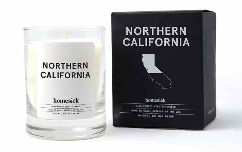 2020 Travelers Gift Guide - Homesick Candle Norcal